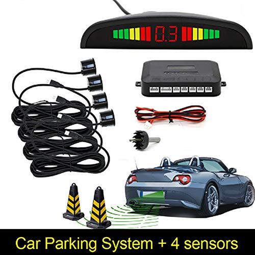 Car Auto Parktronic LED Parking Sensor with 4 Parking: Electronics