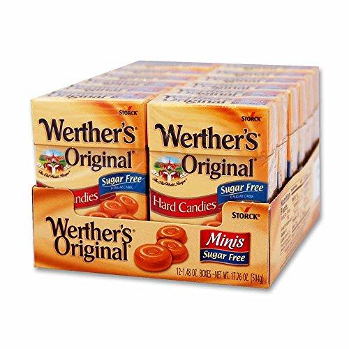 - Werthers Sugar Free Mini Caramel Candies