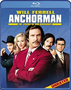 Cover Image for 'Anchorman: The Legend of Ron Burgundy (Unrated)'