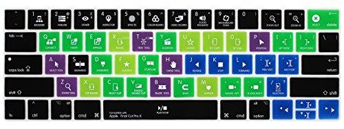 - Allytech 2016-NEW US Layout Ultrathin Keyboard Skin Hot Keys Keyboard Cover for MacBook Pro 13