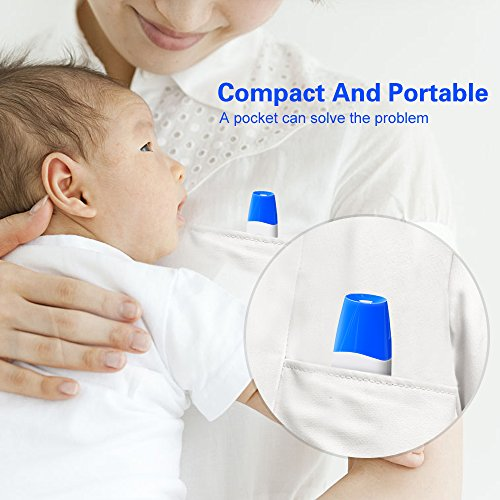 GoldWorld Baby Thermometer- CE/FDA Approved Ear and Forehead Infrared Thermometer with MINI Design for Infant/Kids/Adult