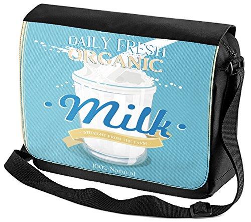 Umhänge Schulter Tasche Nostalgie Fun Organic Milch bedruckt 9rfB4