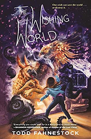 book cover of The Wishing World