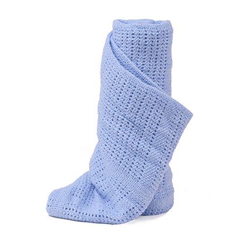 Niuniu Daddy Cellular Baby Blanket (Blue)