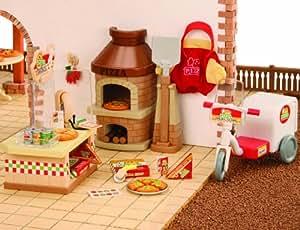 Sylvanian Families 2788  - Horno-pizzeria de juguete [Importado de Alemania]