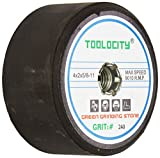 Toolocity GSB0240G 4-Inch Green Grinding Stone 240 Grit with 5/8-11 Thread