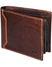 M.R Mens Leather Wallets RFID (Brown and Black)