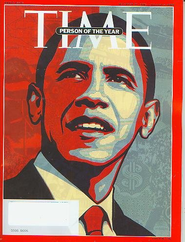 Time Magazine December 29 2008 /Janauary 5 2009 Person of the Year Barack Obama (Special Double Issue)