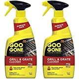 Goo Gone Grill and Grate Cleaner, 24 Ounce - 2 Pack (48 oz total)
