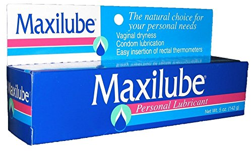 Maxilube Non-staining Personal Lubricant. No Loss of Sensitivity, 5 Oz (4 Pack)