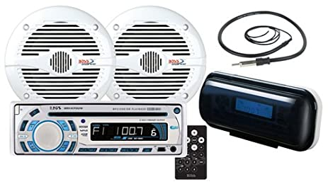 51A rjpwlaL._SX463_ amazon com boss audio systems mck1470 6 marine receiver and  at webbmarketing.co