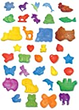 : Activa Magic Color Plaster Casting Molds, 36 Designs