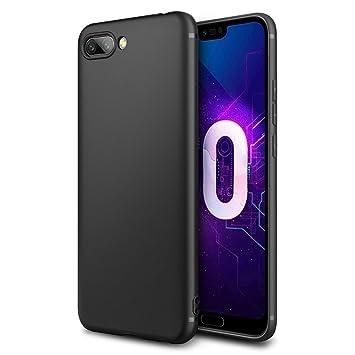 new arrival 481b6 f986e EasyAcc Case for Honor 10 Black TPU Cover Phone Case: Amazon.co.uk ...