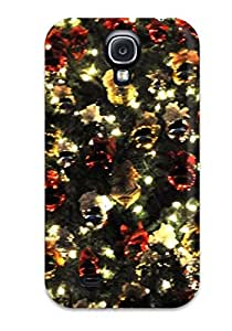 New Style Tpu S4 Protective Case Cover/ Galaxy Case - 3d Christmas
