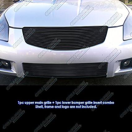 Amazon Aps Fit 2007 2008 Nissan Maxima Black Billet Grille