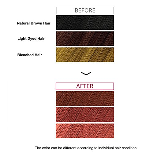 Missha 7 Days Coloring Hair Treatment Pink Brown New