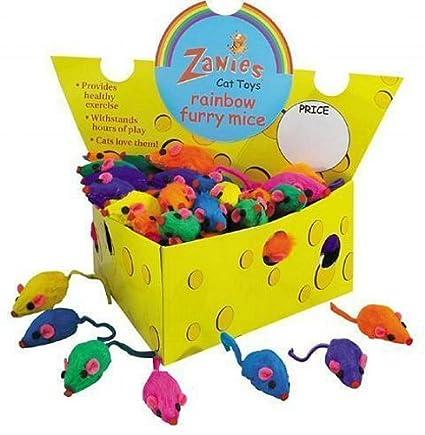 Amazon.com: Gepoetry Caja de 60 Zanies piel real Rattling ...
