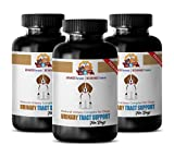 PETS HEALTH SOLUTION dog urinary diet - NATURAL URINARY TRACT SUPPORT - DOG TREATS - PREMIUM ADVANCED COMPLEX - dog uti supplement - 270 Treats (3 Bottle)