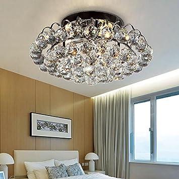 WWOWW @Beleuchtung Dekoration Moderne Kristall Kronleuchter Deckenleuchte,  Mini Stil, Mosaik, Chrom
