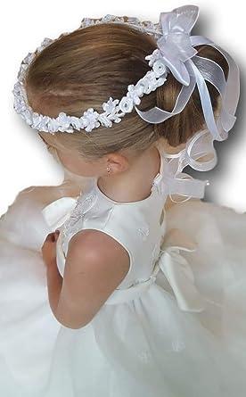 Baby Satin Rose Small Headband Girl Flower Hairband Hair Accessory