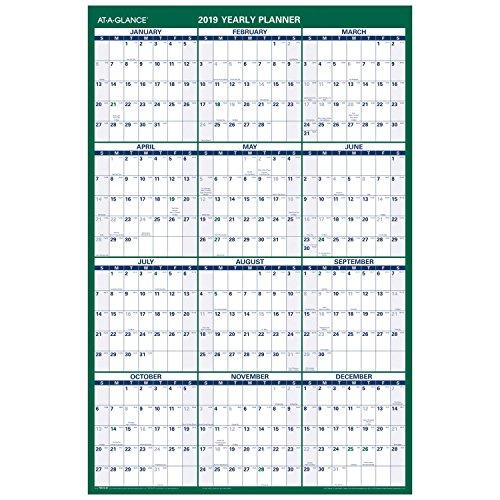 (AT-A-GLANCE Vertical Wall Calendar, 24