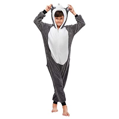 LMYOVE Kids Unisex Animal Costume Onesie Pajamas for Boys & Girls: Clothing