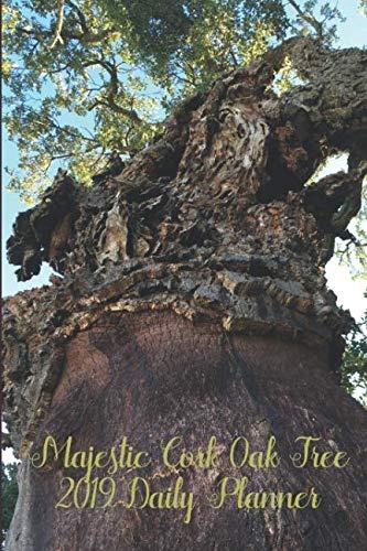Majestic Cork Oak Tree 2019 Daily Planner: 6