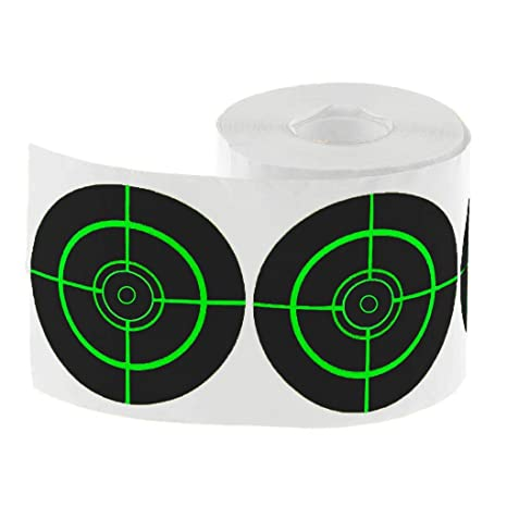 250pcs/roll Splatter & Reactive Targets for Shooting Archery Bow and Arrow Range & Shooting Accessories