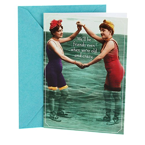 Hallmark Shoebox Birthday Card for Friend (Vintage Women) - 0349RZF3009 (Bday Card For Best Friend)