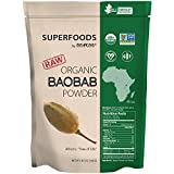 MRM - Raw Organic Baobab Fruit Powder, Non-GMO Project Verified, Vegan & Gluten-Free (8.5 Ounce)