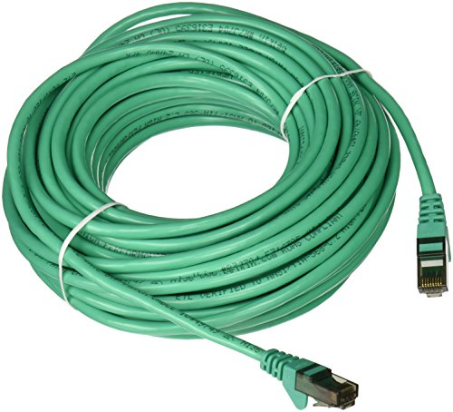 (Belkin A3L980-50-GRN-S RJ45M/RJ45M CAT6 Snagless Patch Cable (Green))