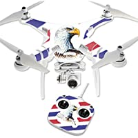 Skin For DJI Phantom 3 Standard – Eagle Head | MightySkins Protective, Durable, and Unique Vinyl Decal wrap cover | Easy To Apply, Remove, and Change Styles | Made in the USA