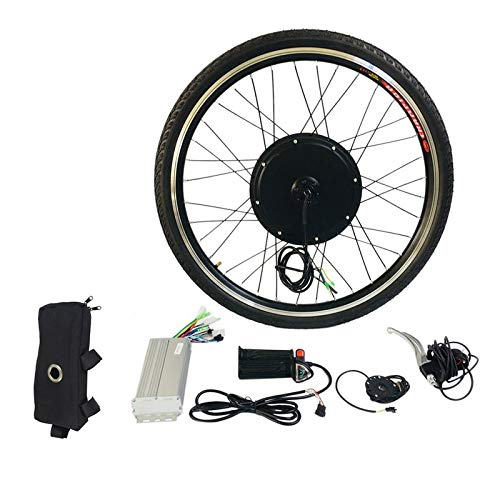 BianchiPatricia 1000W Electric E Bike Conversion Kit 26″ Front Wheel Motor Bicycle Hub 48V