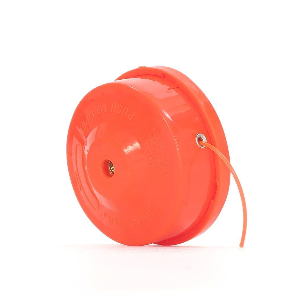 Fuxtec - Cabezal de doble hilo para cortador de césped, con bobina ...