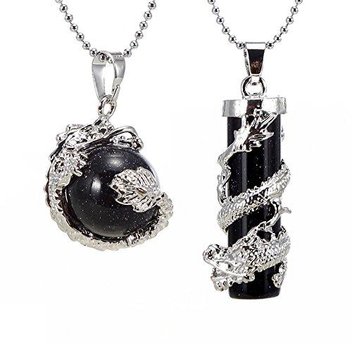 BRCbeads Gemstone Necklace Pendant Healping