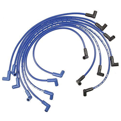 ACCEL 5048B 8mm Super Stock Spiral Custom Wire Set - Blue