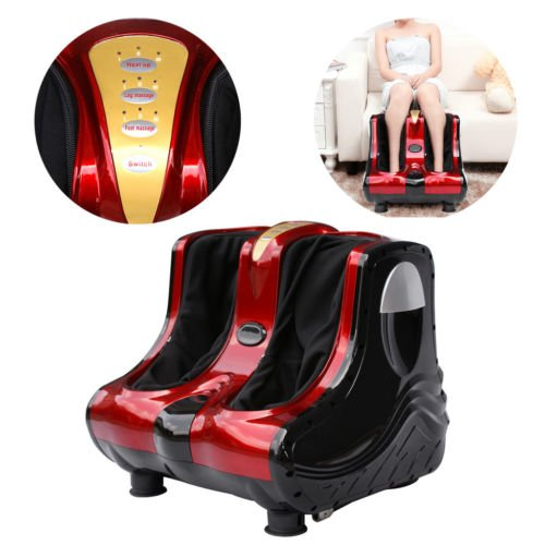 ZENY Shiatsu Kneading Rolling Foot Leg Calf Massager Massage Machine Personal Health Studio Leg Beautician, Christmas Gift by ZENY (Image #2)