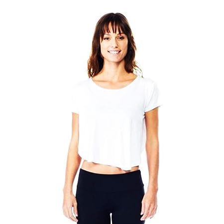 LDDOTR Tops de Yoga para Mujeres, Camisas de Gimnasia con ...