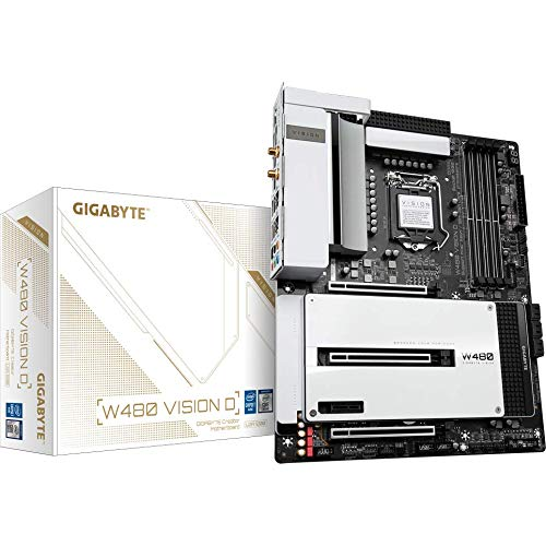 MB Gigabyte W480 VISION D – –