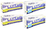 Natracare Organic Cotton Tampons (Super and Regular Variety Pack of 80) No Applicator