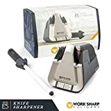 electric knife sharp - Work Sharp Culinary E5 Electric Kitchen Knife Sharpener