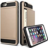 img - for iPhone 6 Case, KINGWorld [Hidden Credit Card Cash ID Holder Slot Case][New][ Drop Protective Case ][Prevents Scratches] [Perfect fit]- Armor Case for iPhone 6 (4.7-Inch) Devices(Card-Gold) book / textbook / text book