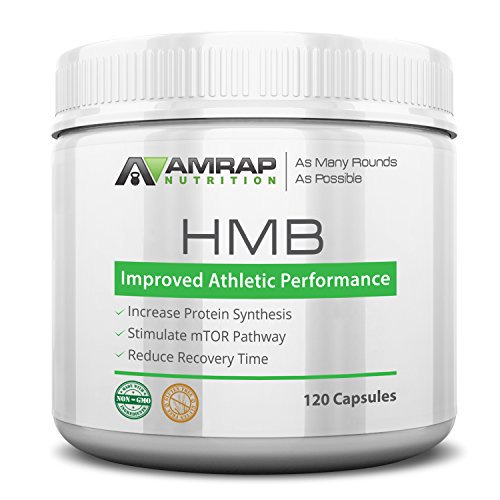 AMRAP Nutrition - HMB - Builds, Maintains and Repairs Lean Muscle Mass - Increases Strength - Stamina - Speeds Post-Workout Recovery - Promotes Protein Synthesis