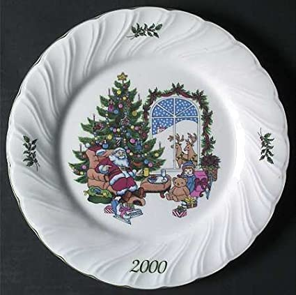 Nikko Happy Holidays 2000 Collector's Plate