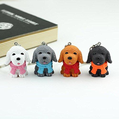 SAGESSE 10pcs Portachiavi di Animali,carino portachiavi di gatti cani per bambino,Perfetto come regalo per compleanno del bambino per ornare gli zainetti di scuola