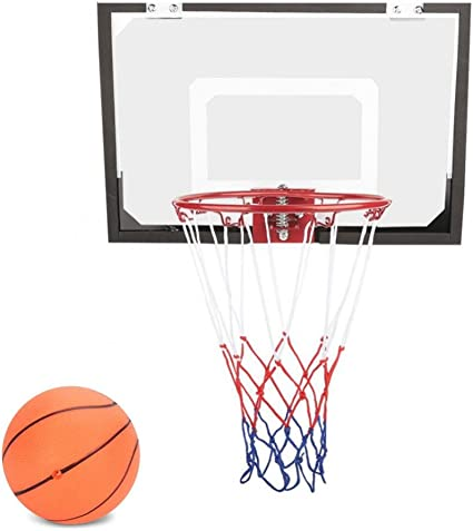Amazon.com: Mini juego de aro de baloncesto de pared con ...