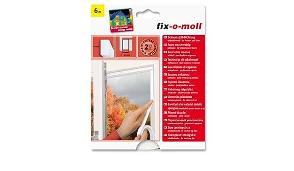 Suki 3565290 - Sello de espuma aislante de poliuretano Adhesivo para puerta/ventana blanca: Amazon.es: Bricolaje y herramientas