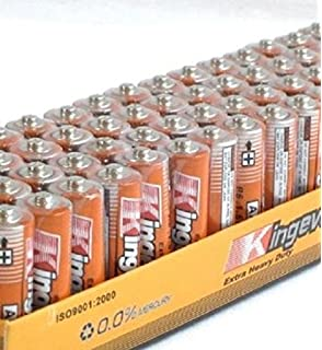 Power Guard AAA Batteries Super Heavy Duty Triple A 54 Pack Long Lasting 1.5 Volt