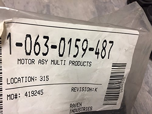 063-0159-487 RAVEN MOTOR ASY MULTI PRODUCTS from Raven