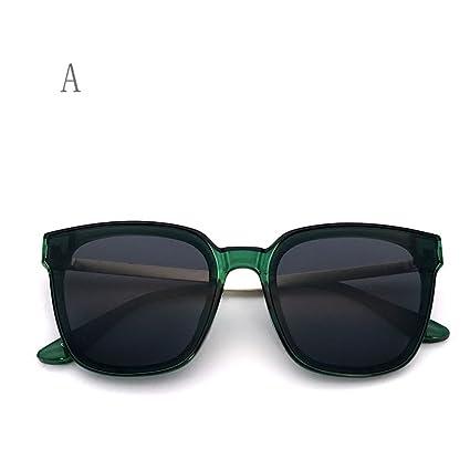 FZG Gafas de Sol, Gafas De Sol Cuadradas, Lentes Planas ...